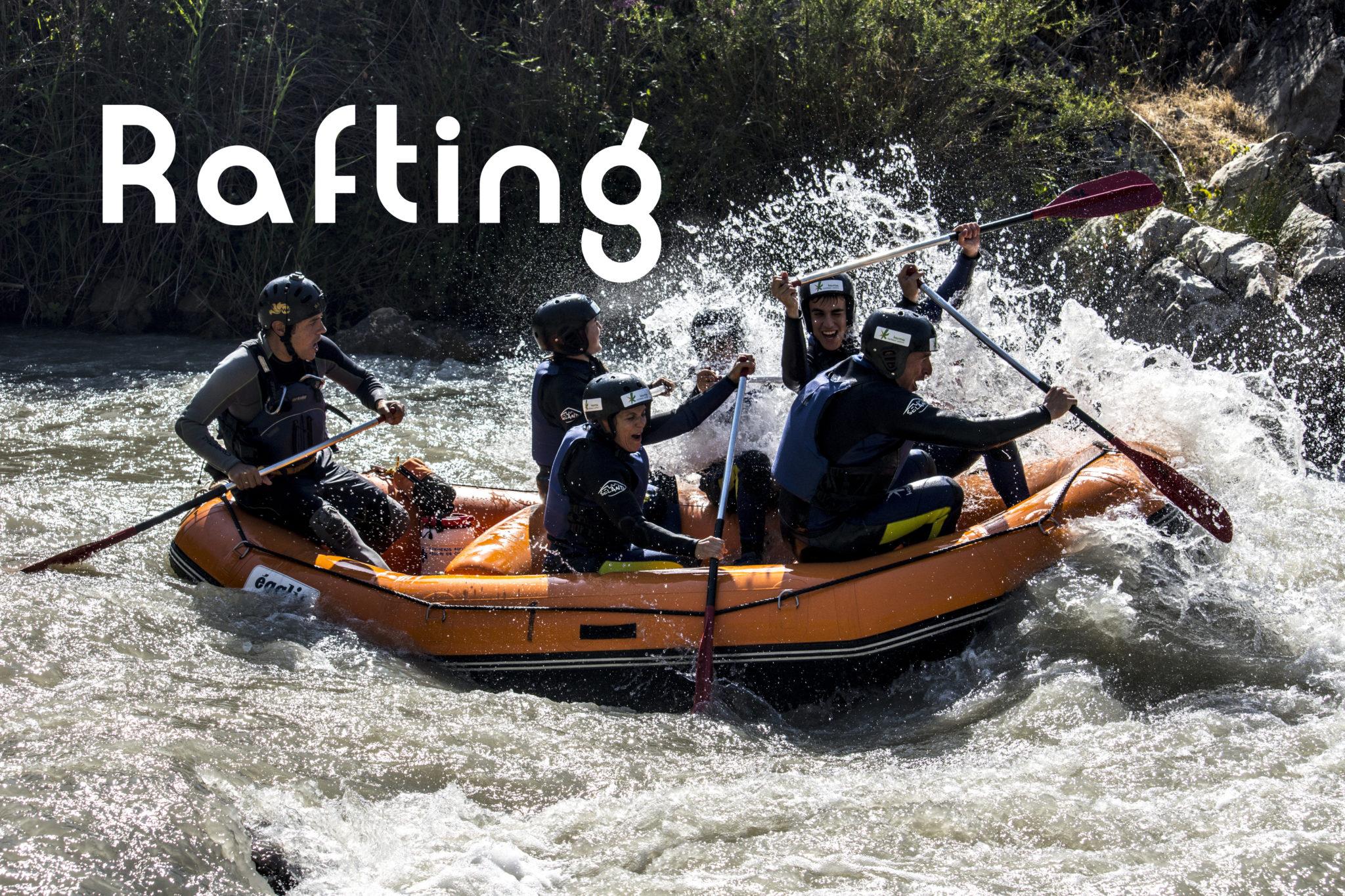Rafting en Andalucia Karma Turismo Activo
