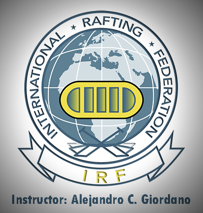 Logo oficial de la International Rafting Federation