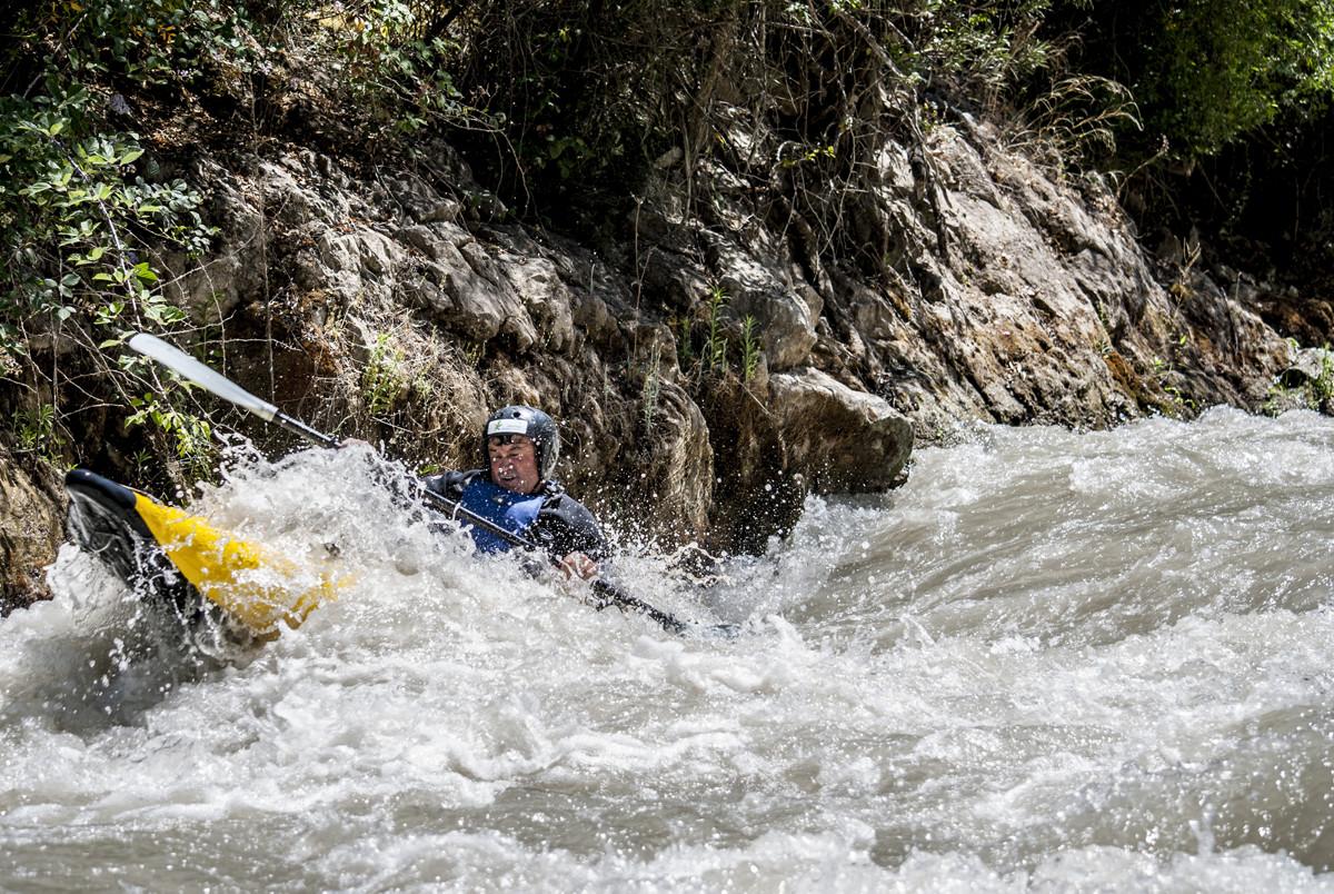 Kayak en Andlucía