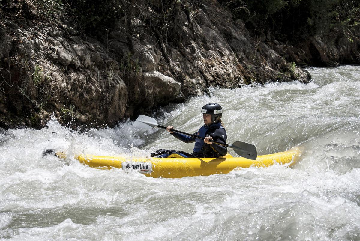 Kayak río genil. Córdoba