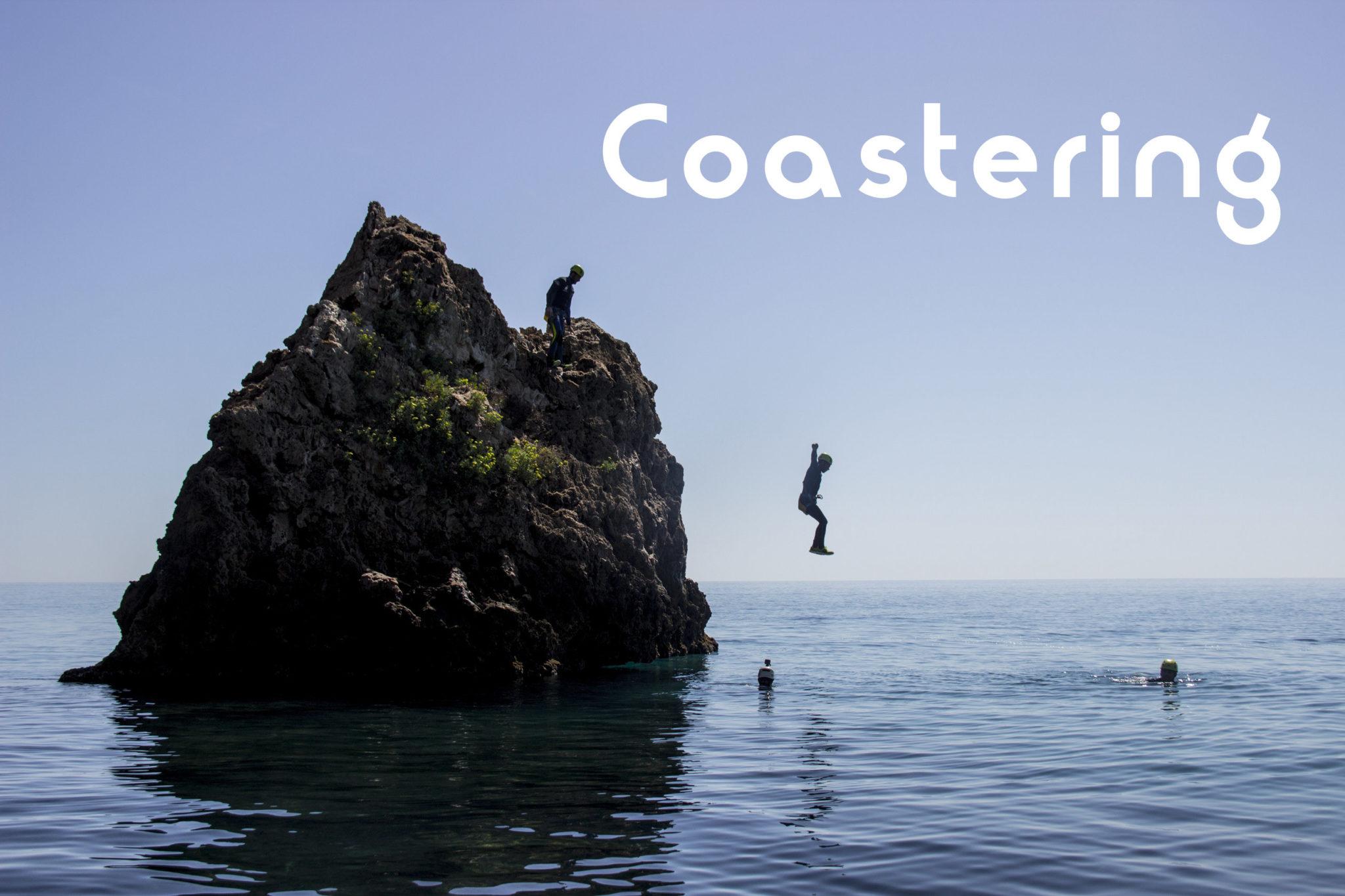 Coastering