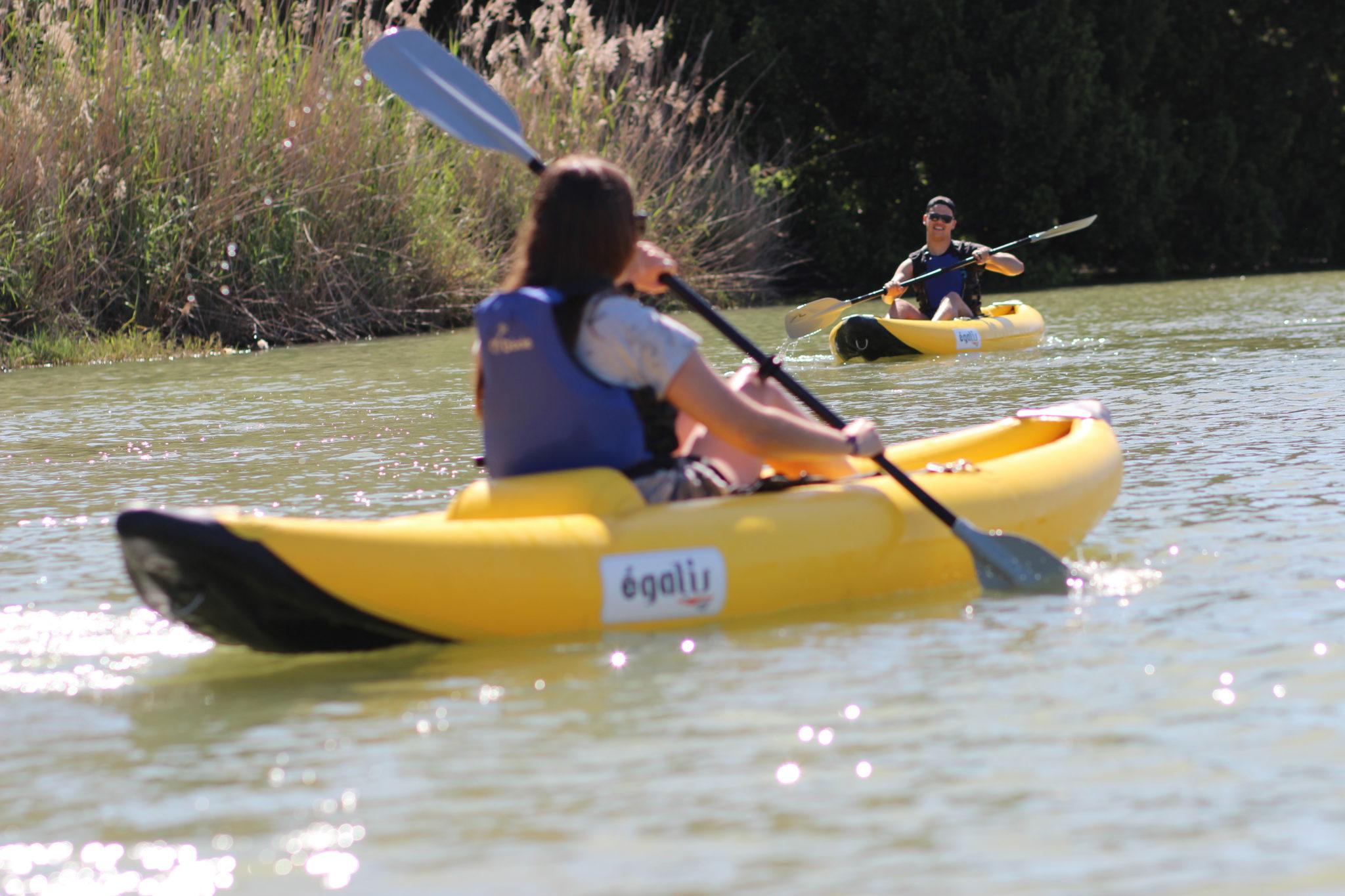 Kayak en Sevilla para dos