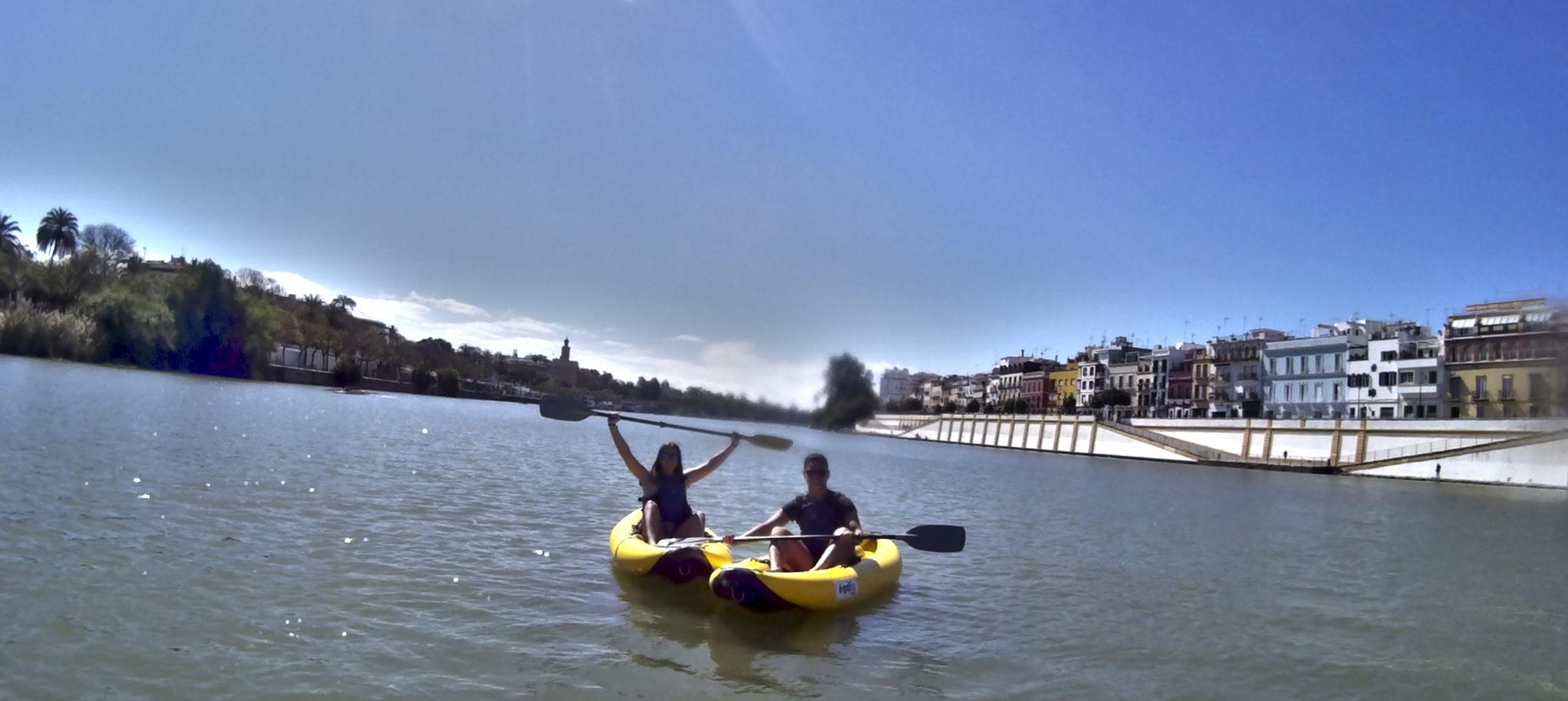 Barrio de Triana - Kayak en Sevilla