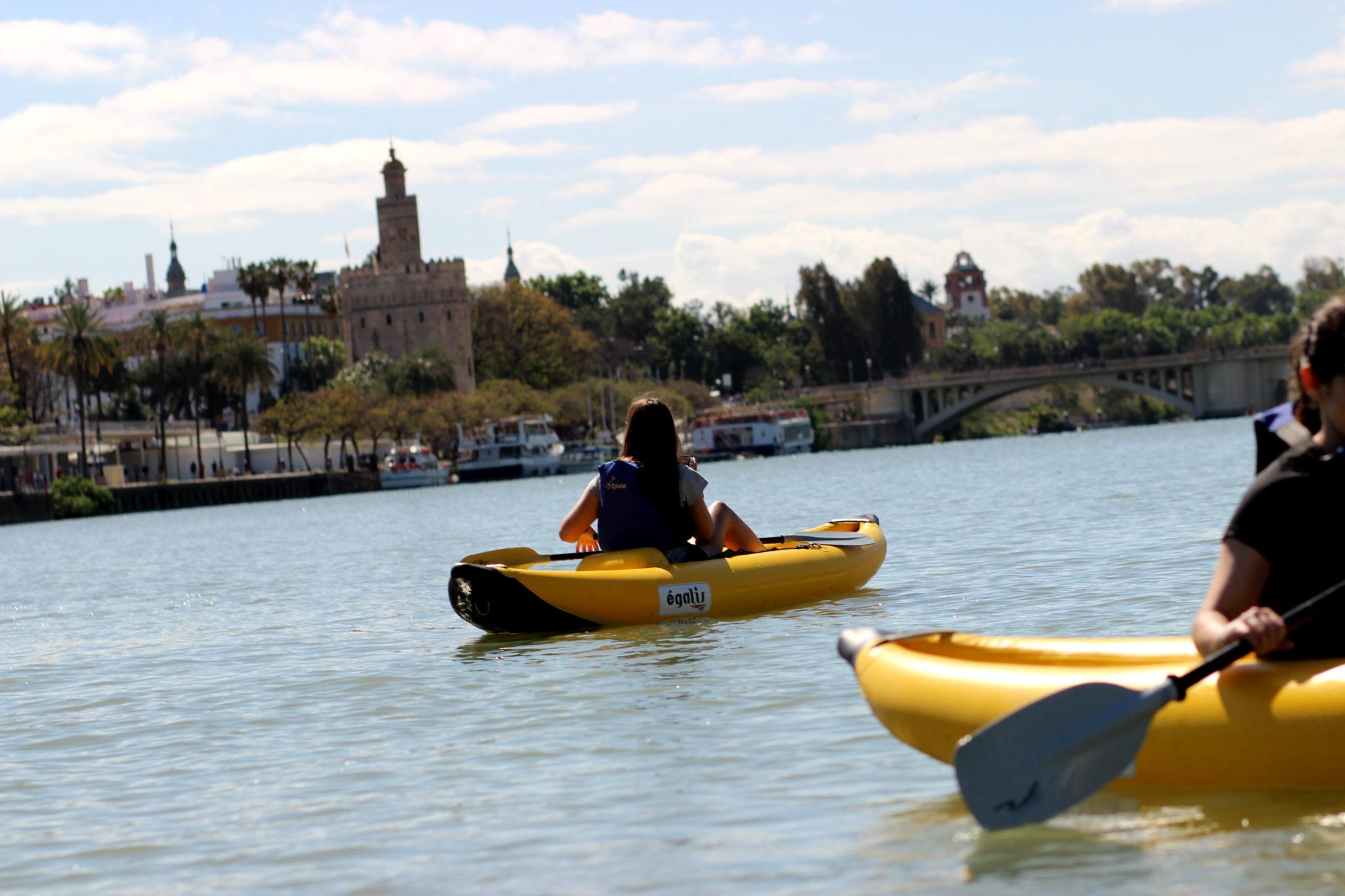 Ver Sevilla en Kayak