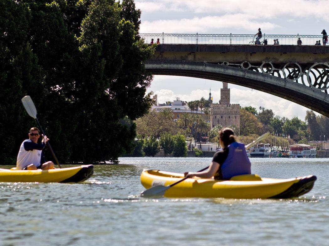 Sevilla en kayak