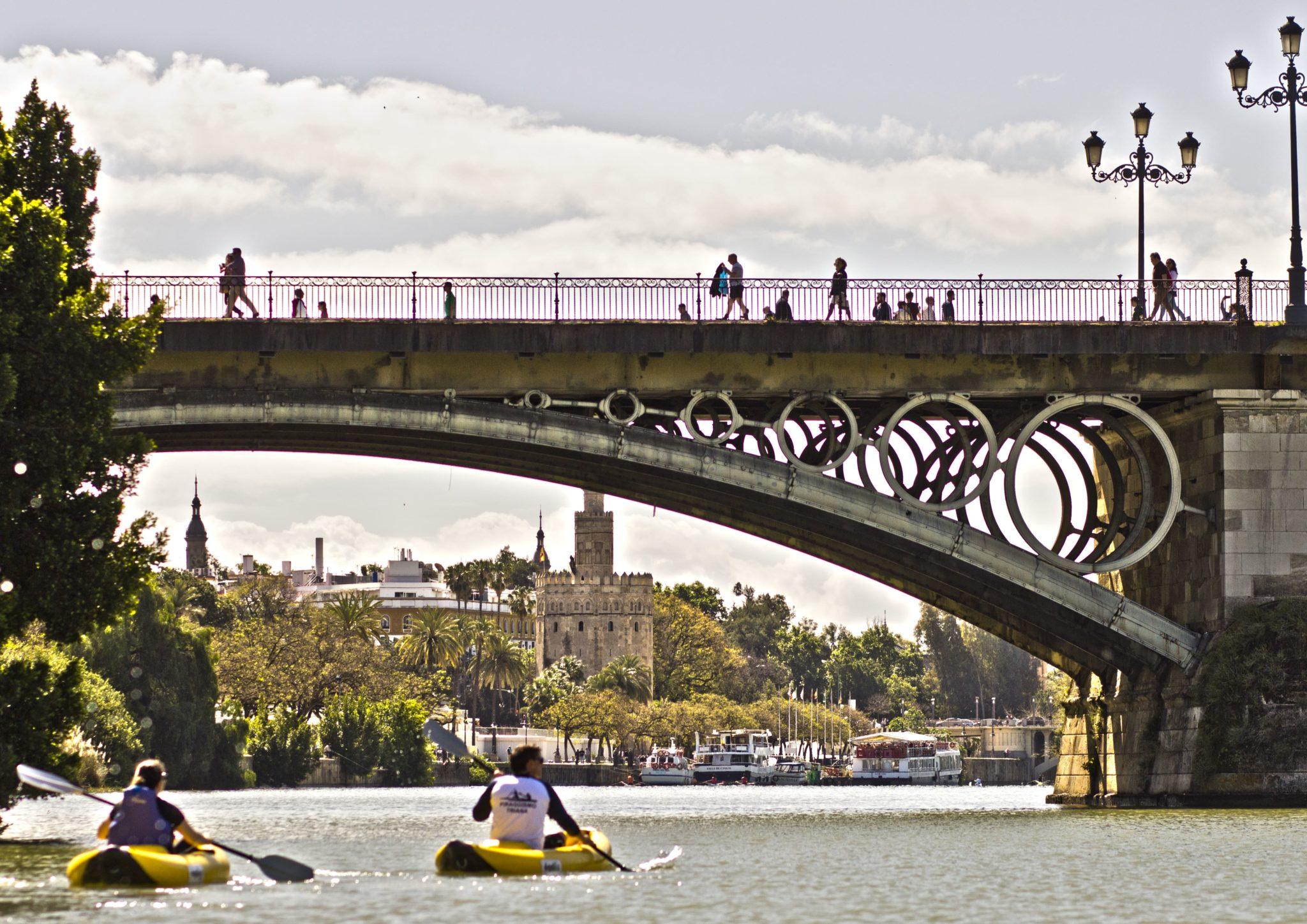 Inolvidable ruta de Kayak por Sevilla
