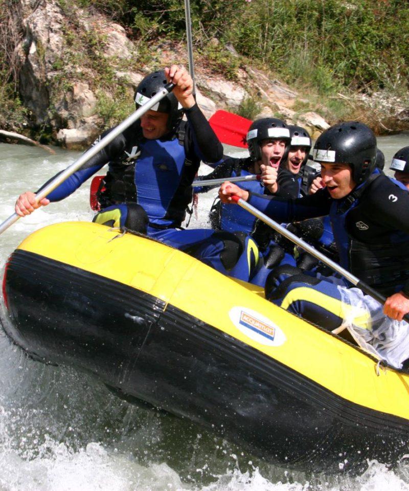 Rafting en Cordoba