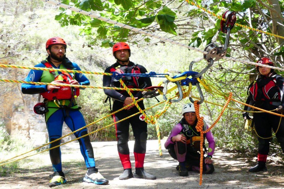Curso de rescate acuático avanzado para profesionales